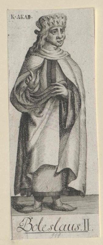 Boleslaw II., der Fromme Herzog von Böhmen