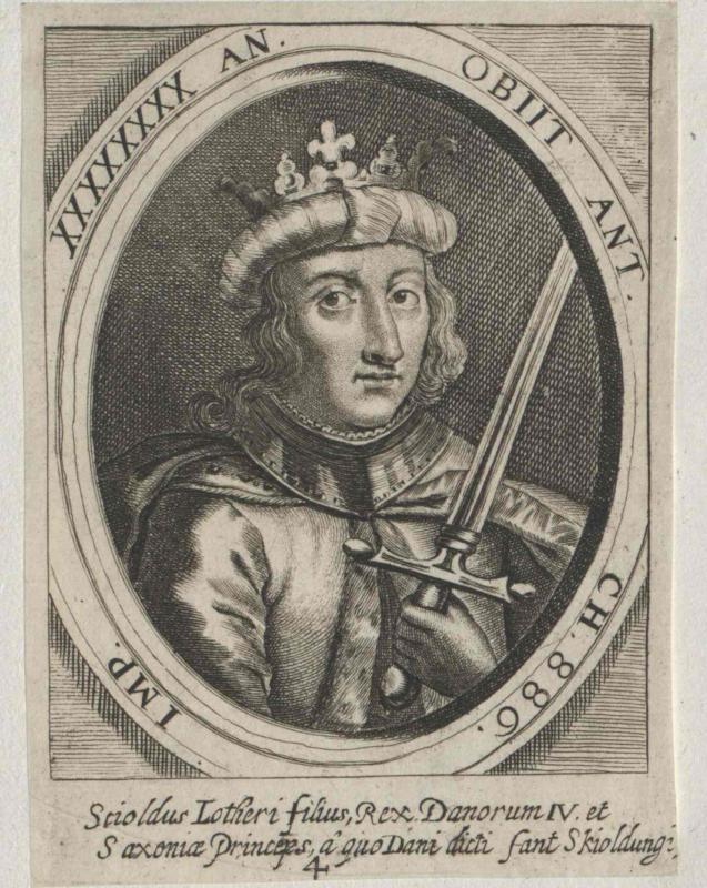 Scioldus, König von Dänemark
