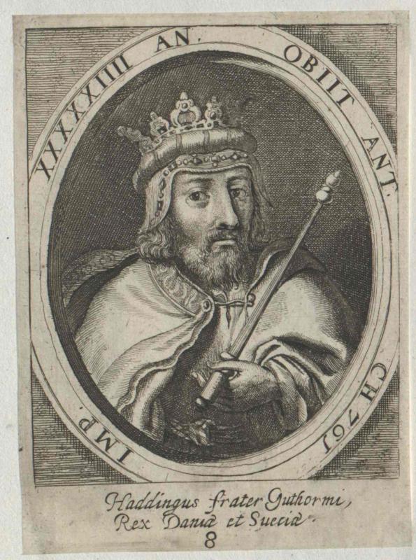 Hadding, König von Dänemark