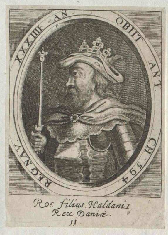 Roe, König von Dänemark