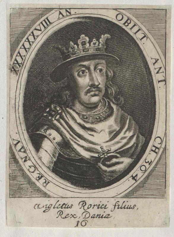 Wiglet, König von Dänemark