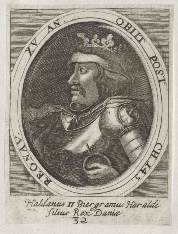Haldan II., König von Dänemark