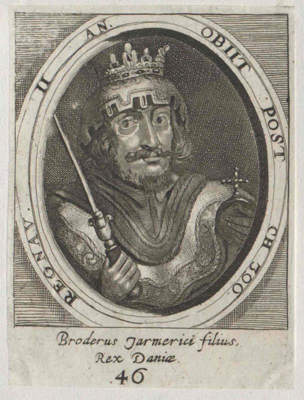 Broderus, König von Dänemark