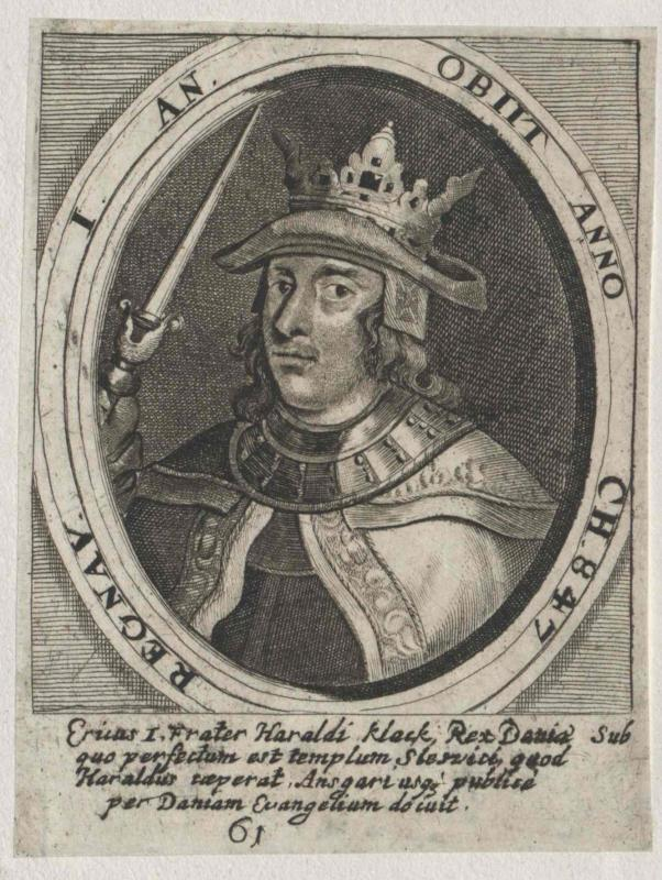 Erik I., König von Dänemark