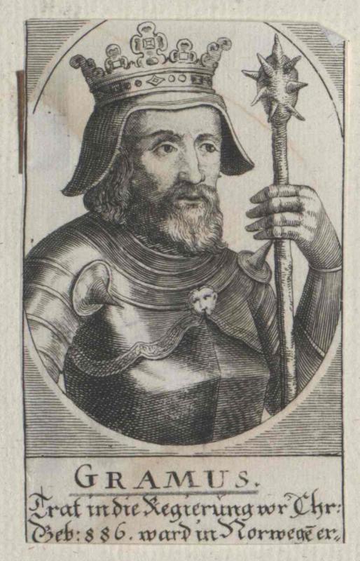 Gram, König von Dänemark