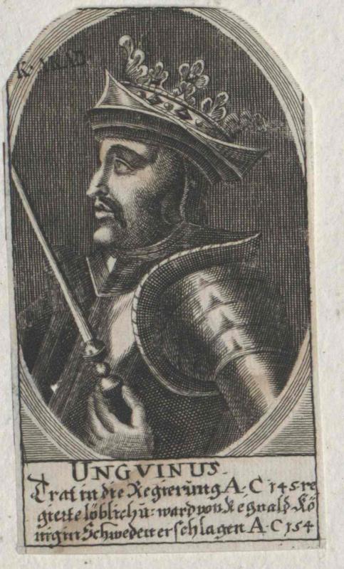 Unguin, König von Dänemark
