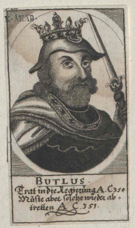Buthlus, König von Dänemark