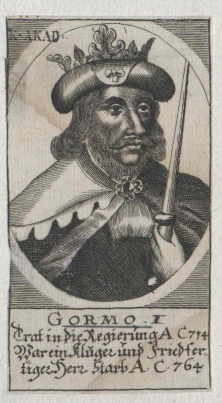 Gormo I., König von Dänemark
