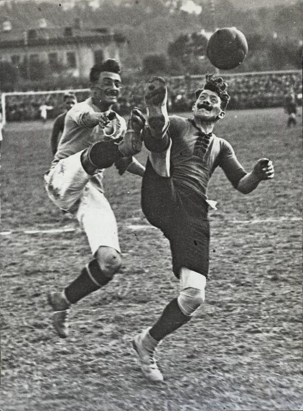 Fußball in der Steinzeit