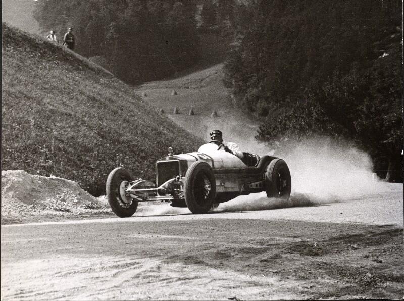 Hans Stuck auf Daimler