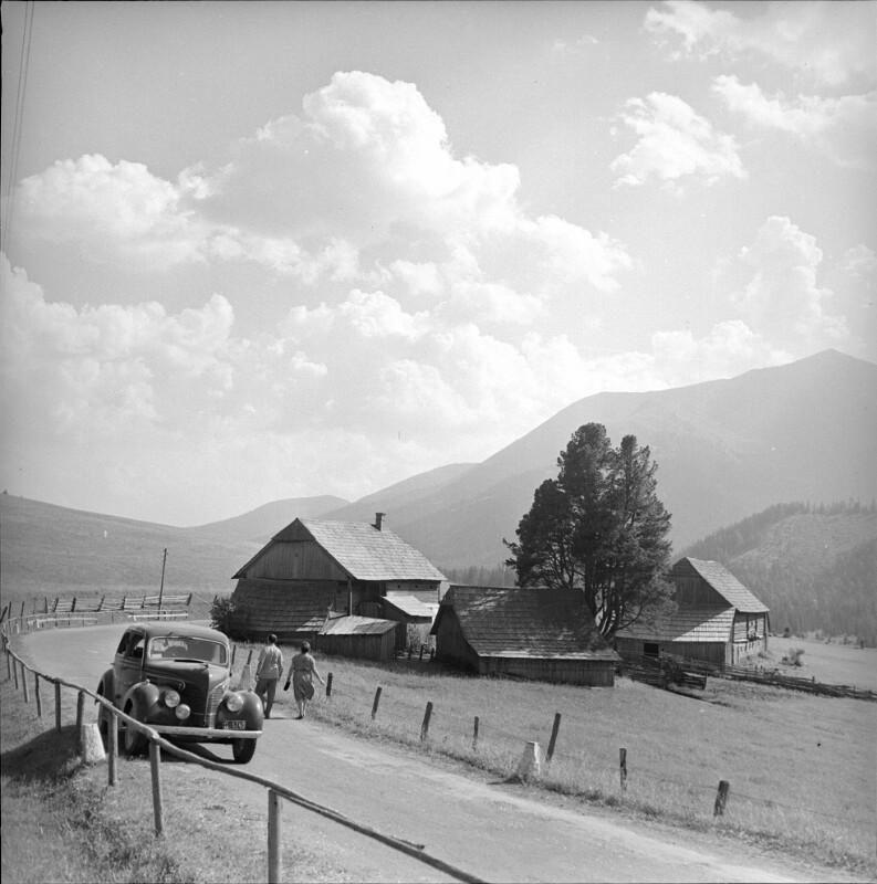Bundesstraße 114 zwischen Thalheim und Trieben