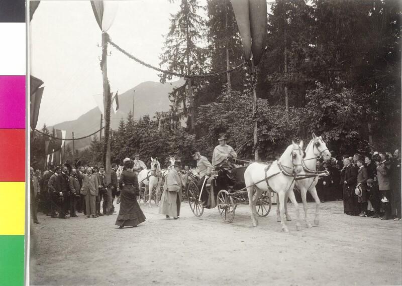 Kaiser Franz Josef zu Besuch in Bad Aussee