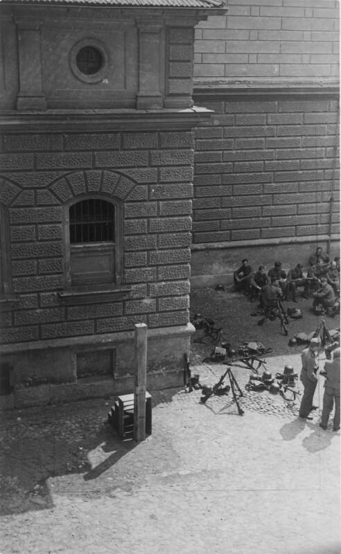 Graz, Hinrichtungsstätte für Putschisten im Gefängnishof