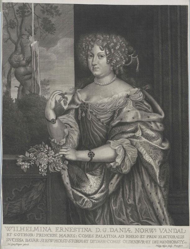 Wilhelmine Ernestine, Prinzessin von Dänemark