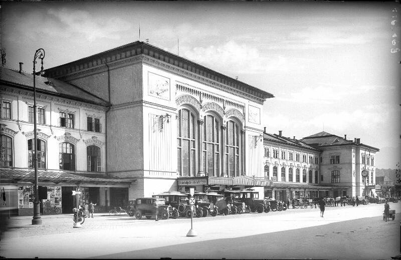 Salzburg, Bahnhof