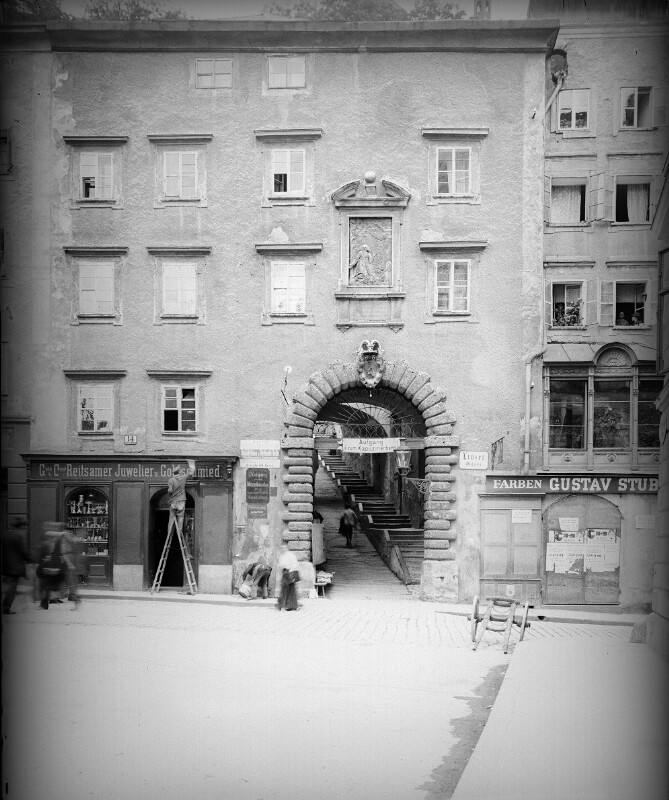 Salzburg, Kapuzinerberg