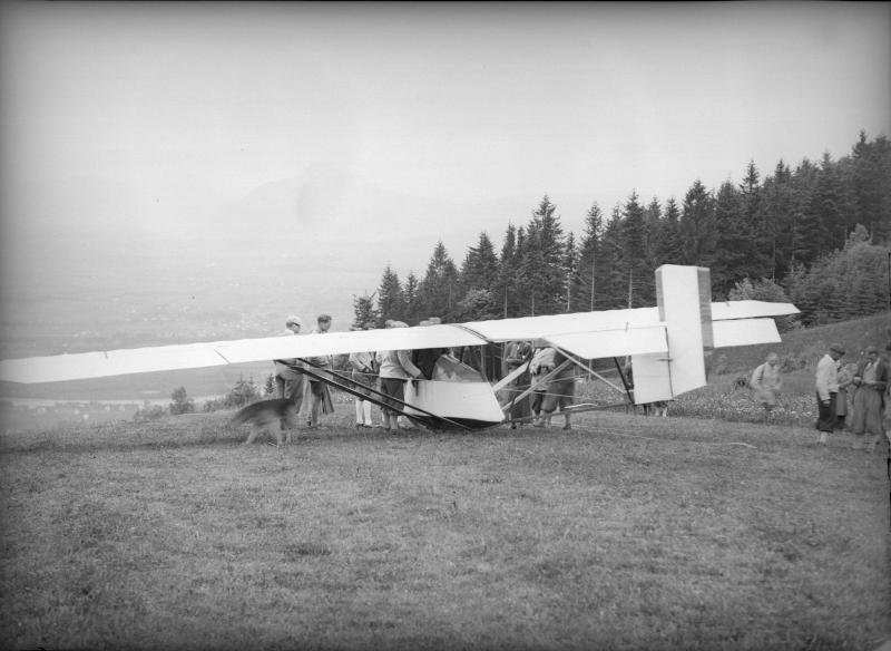 Segelflieger am Gaisberg