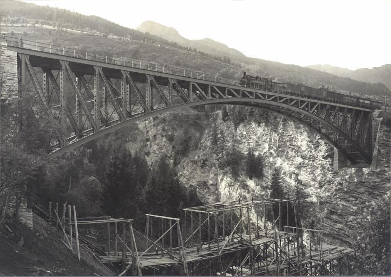 Eröffnung der Nordrampe der Tauernbahn