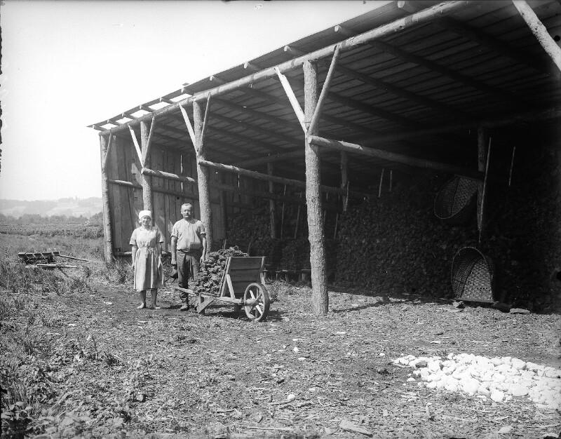 Torflager bei Mattsee