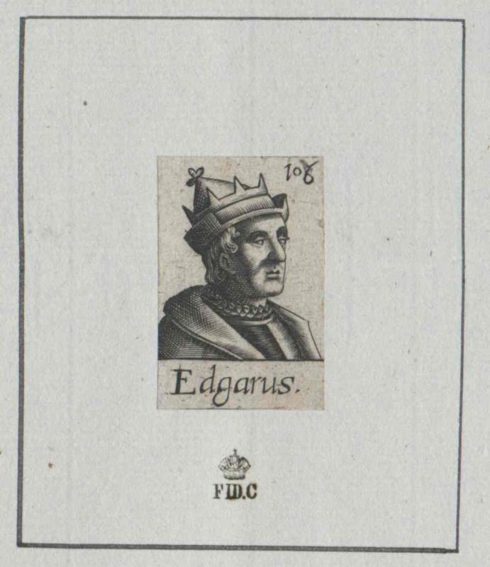 Edgar der Friedfertige, König von England