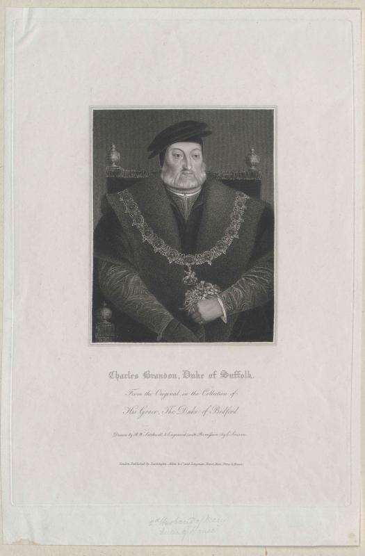 Suffolk, Charles Duke