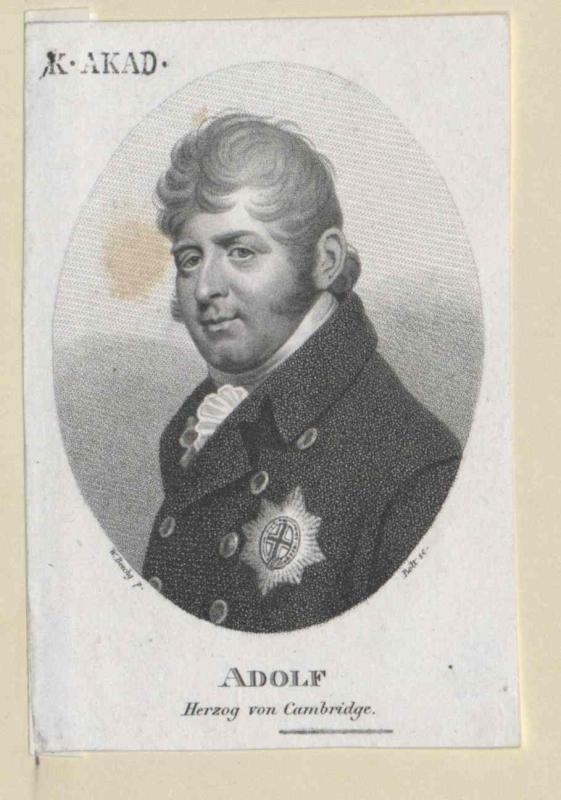 Adolf Friedrich, Herzog von Cambridge