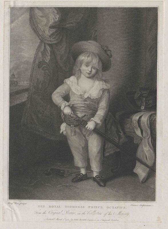 Oktavius, Prinz von England