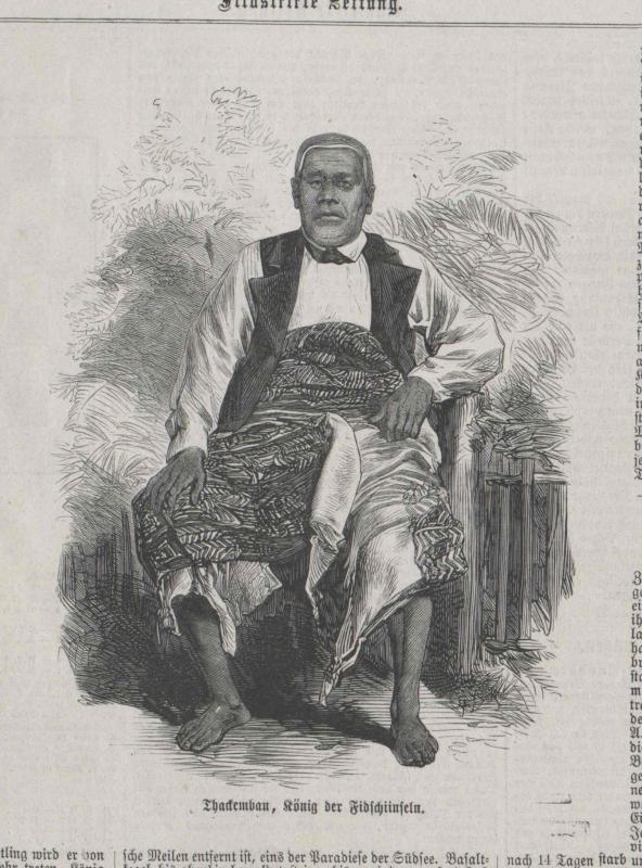 Thackembau, König der Fidschinseln