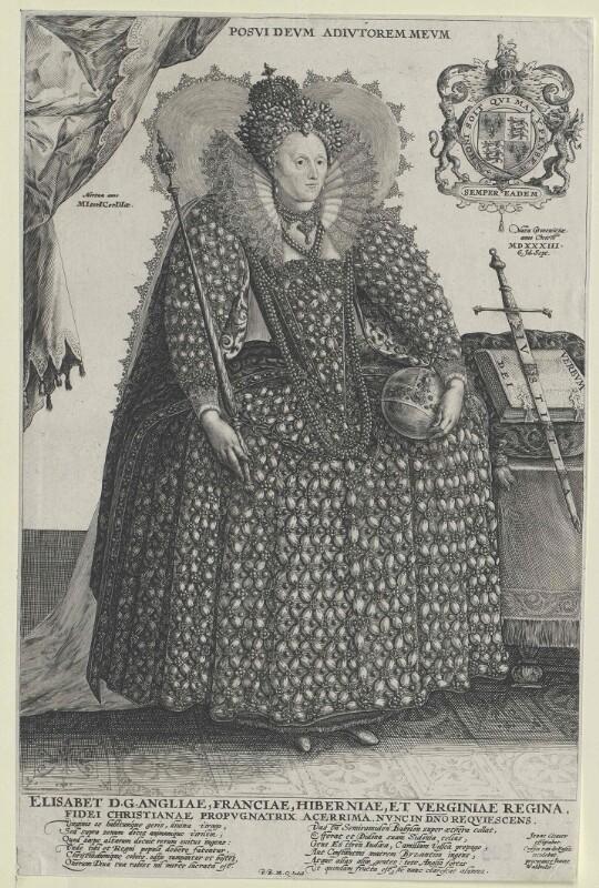 Bildnis Königin Elisabeth I. von England