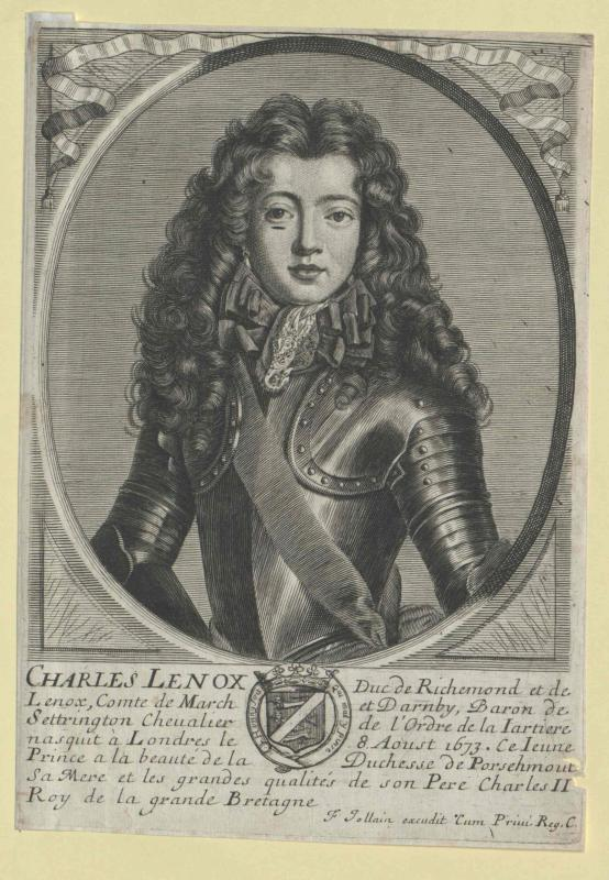 Lennox, Charles Duke of Richmond and Lennox