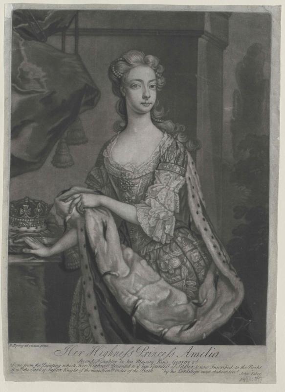 Amalie, Prinzessin von England