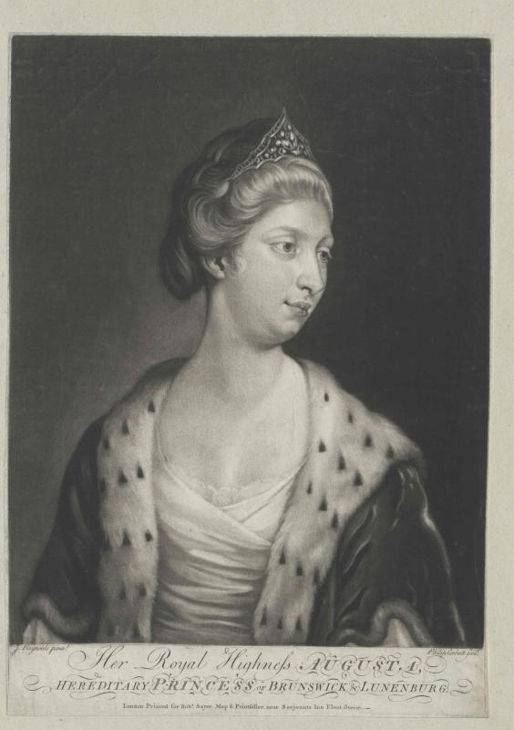 Auguste von England