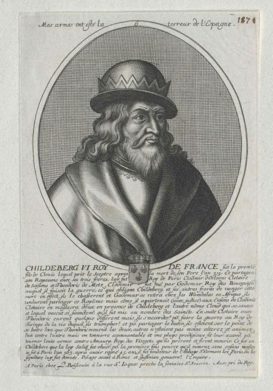 Childebert I., König der Franken