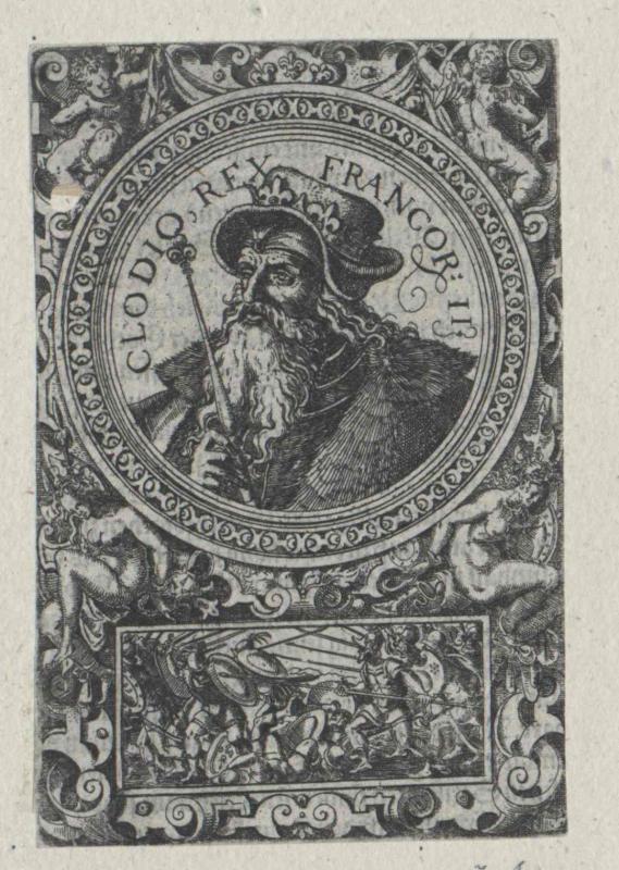Chlodio, König der Franken