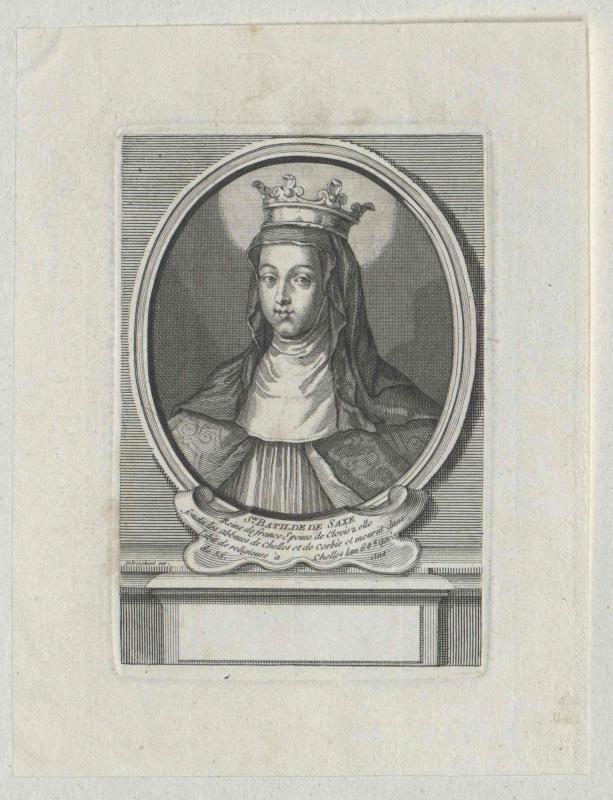 Bathildis, Heilige