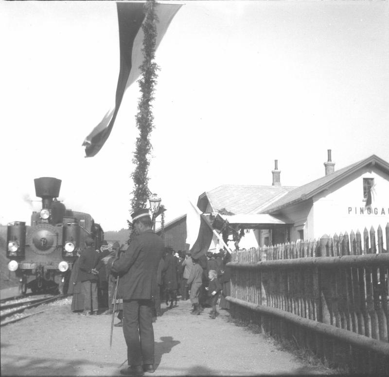 Eröffnung der Wechselbahn/Aspangbahn