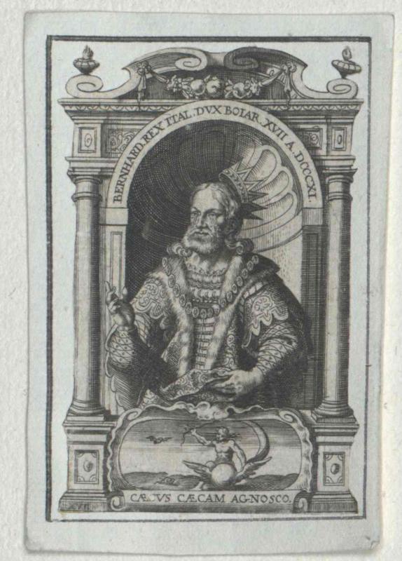 Bernhard, König von Italien