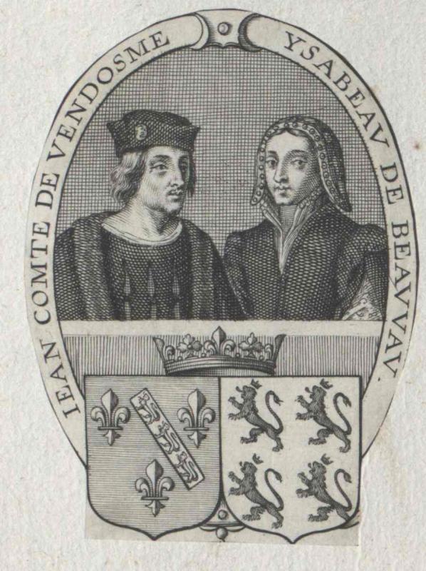 Johann II. von Bourbon, Graf von Vendôme