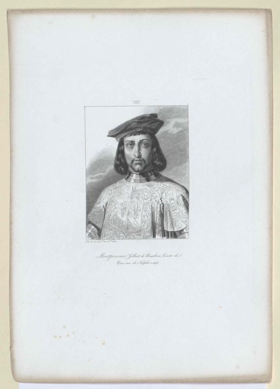 Gilbert von Bourbon, Graf von Montpensier