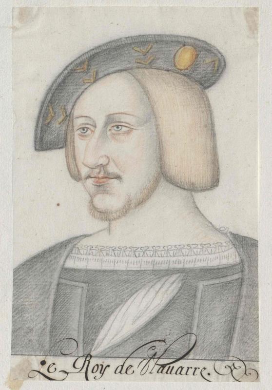 Anton von Bourbon, Herzog von Vendôme, König von Navarra