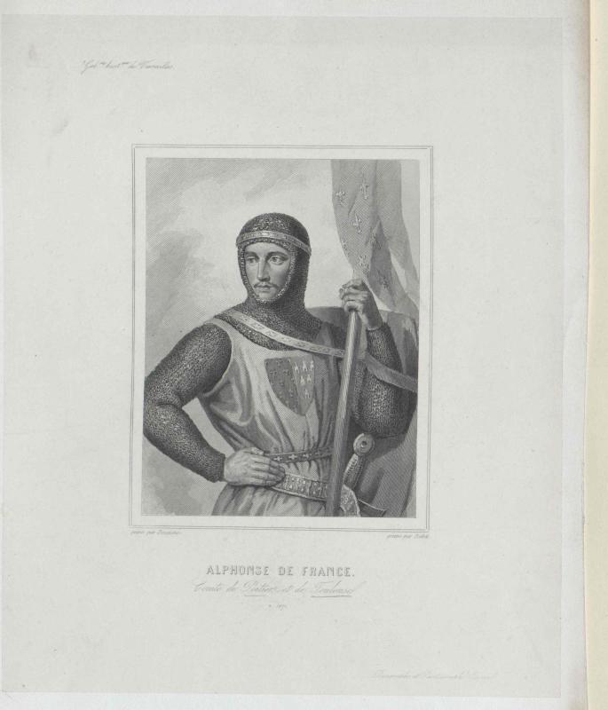 Alphons III. von Frankreich, Graf von Poitou und Auvergne