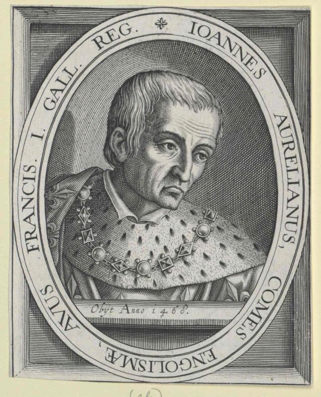 Johann von Orléans, Graf von Angoulême