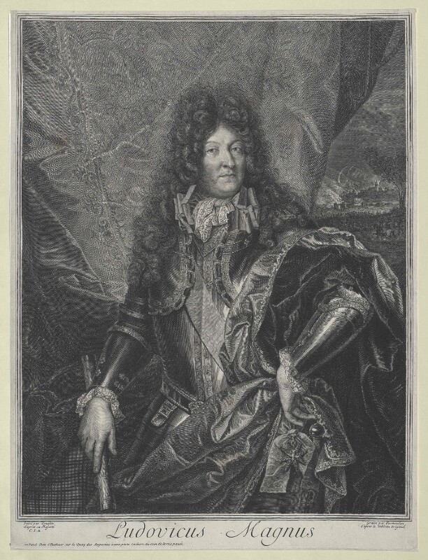 Bildnis König Ludwig XIV. von Frankreich