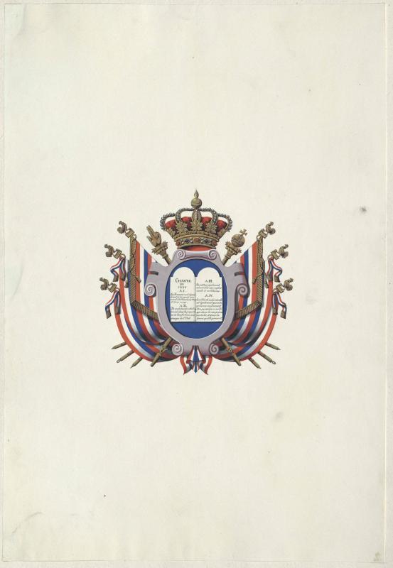 Wappen des Königreichs Frankreich von 1830