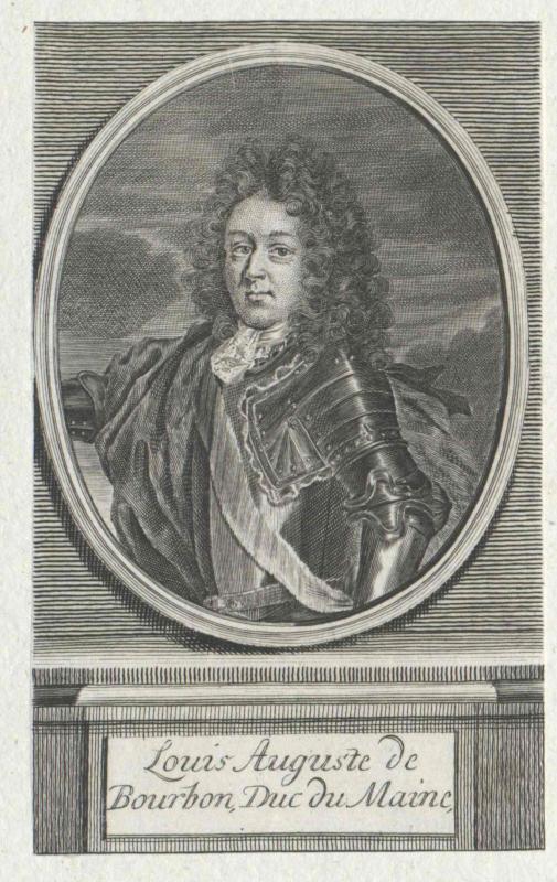 Bourbon, Duc du Maine, Louis I. Auguste de