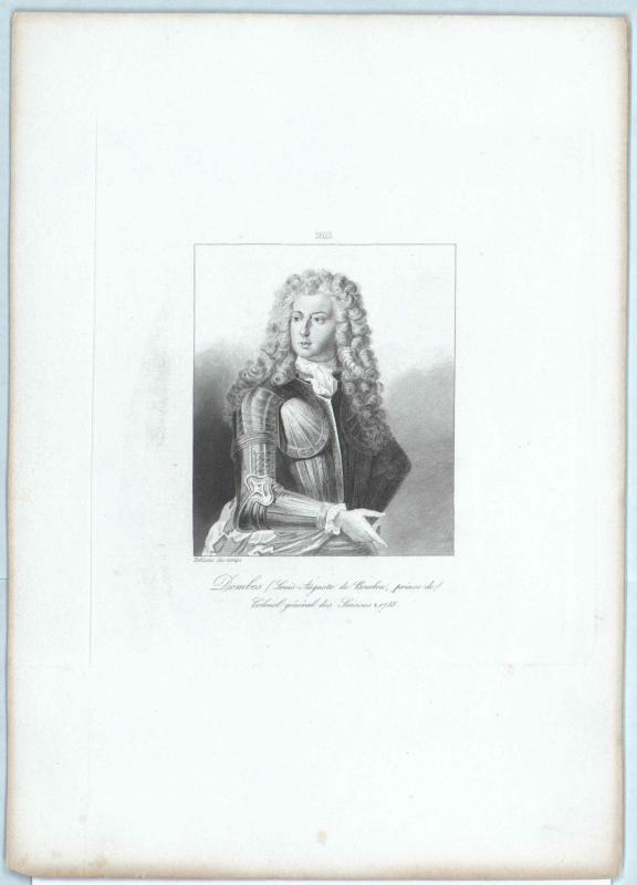 Bourbon, Prince des Dombes, Louis II. Auguste de