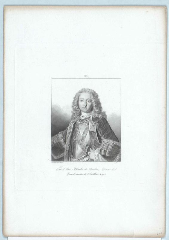 Bourbon, Prince des Dombes, Louis Charles de