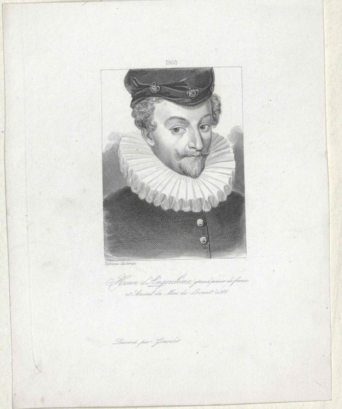 """Angoulême, Henri """"le Chevalier"""" d'"""