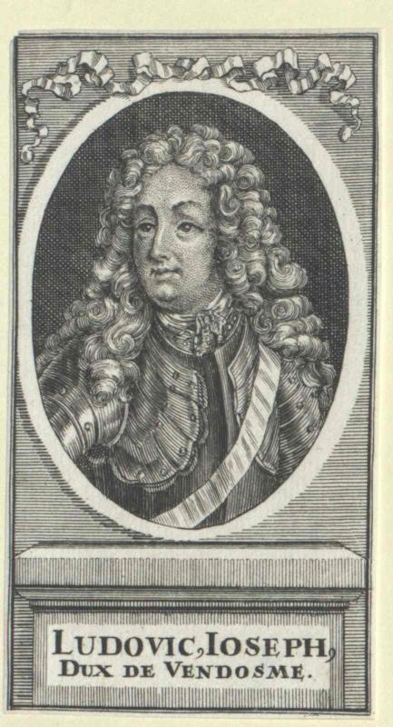 Vendôme, Louis Joseph Duc de