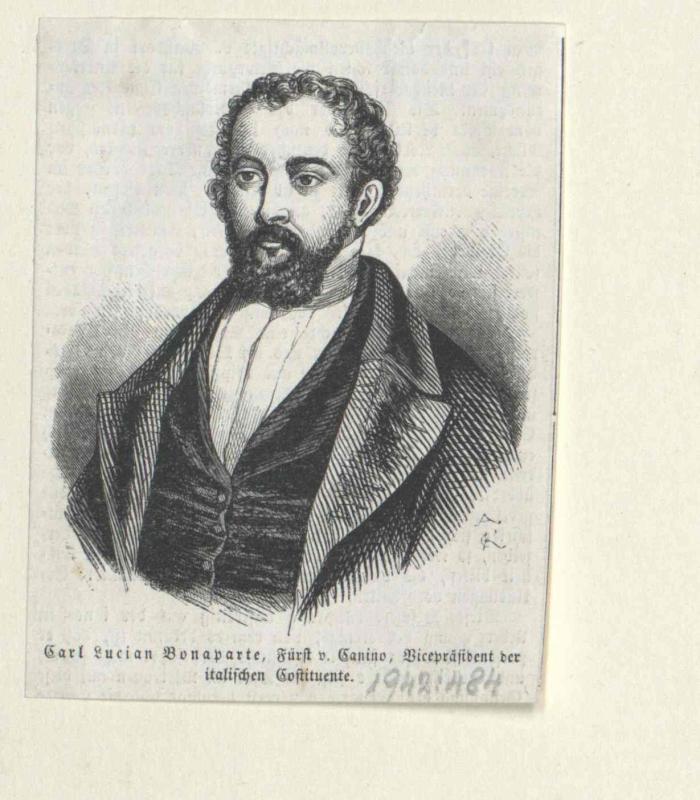 Bonaparte, Karl Lucian Prinz